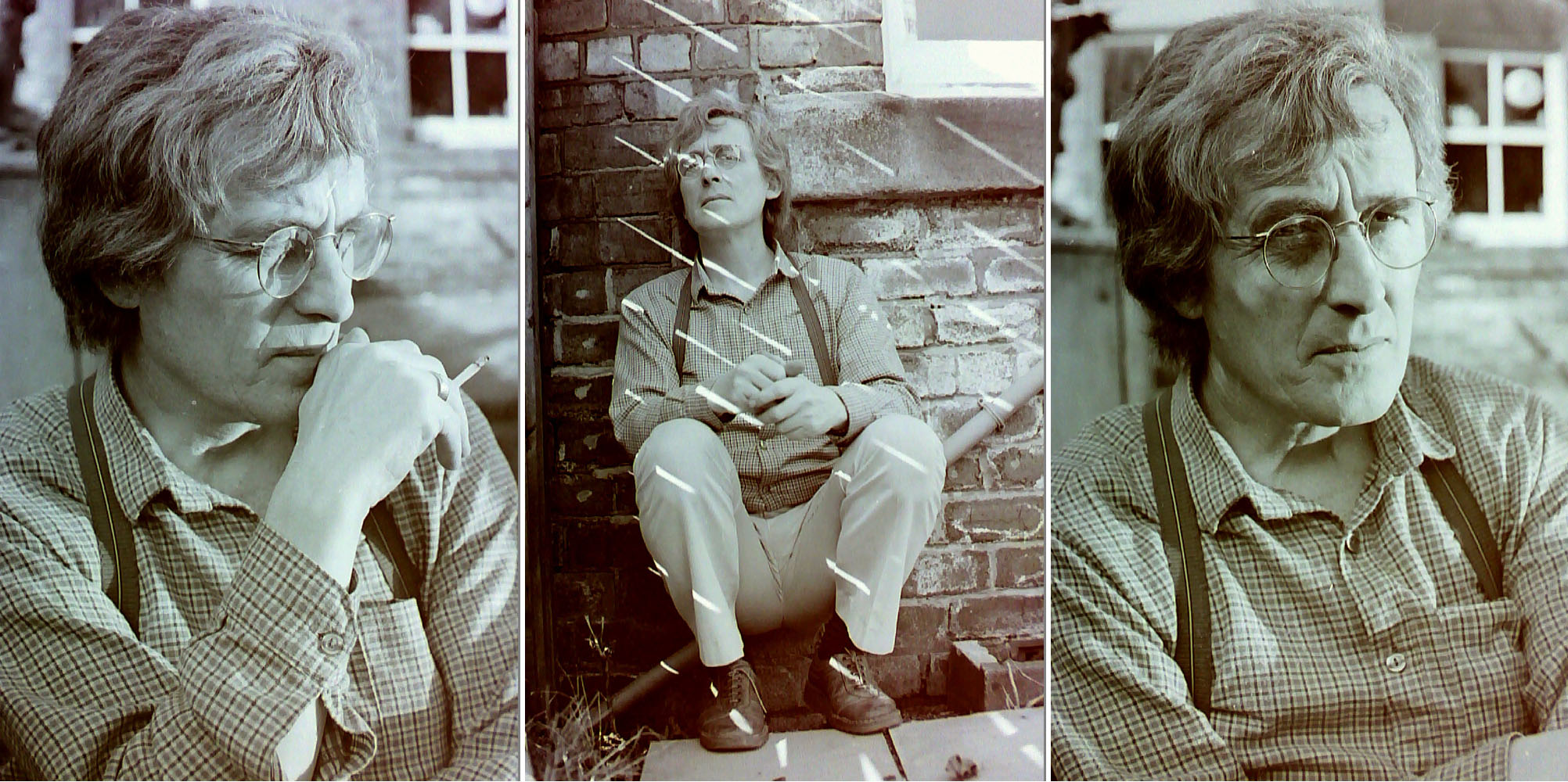 Terry Cryer by Richard Gentle c1980